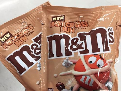 M&M's launch new hot cross bun flavour - but there's a catch 1