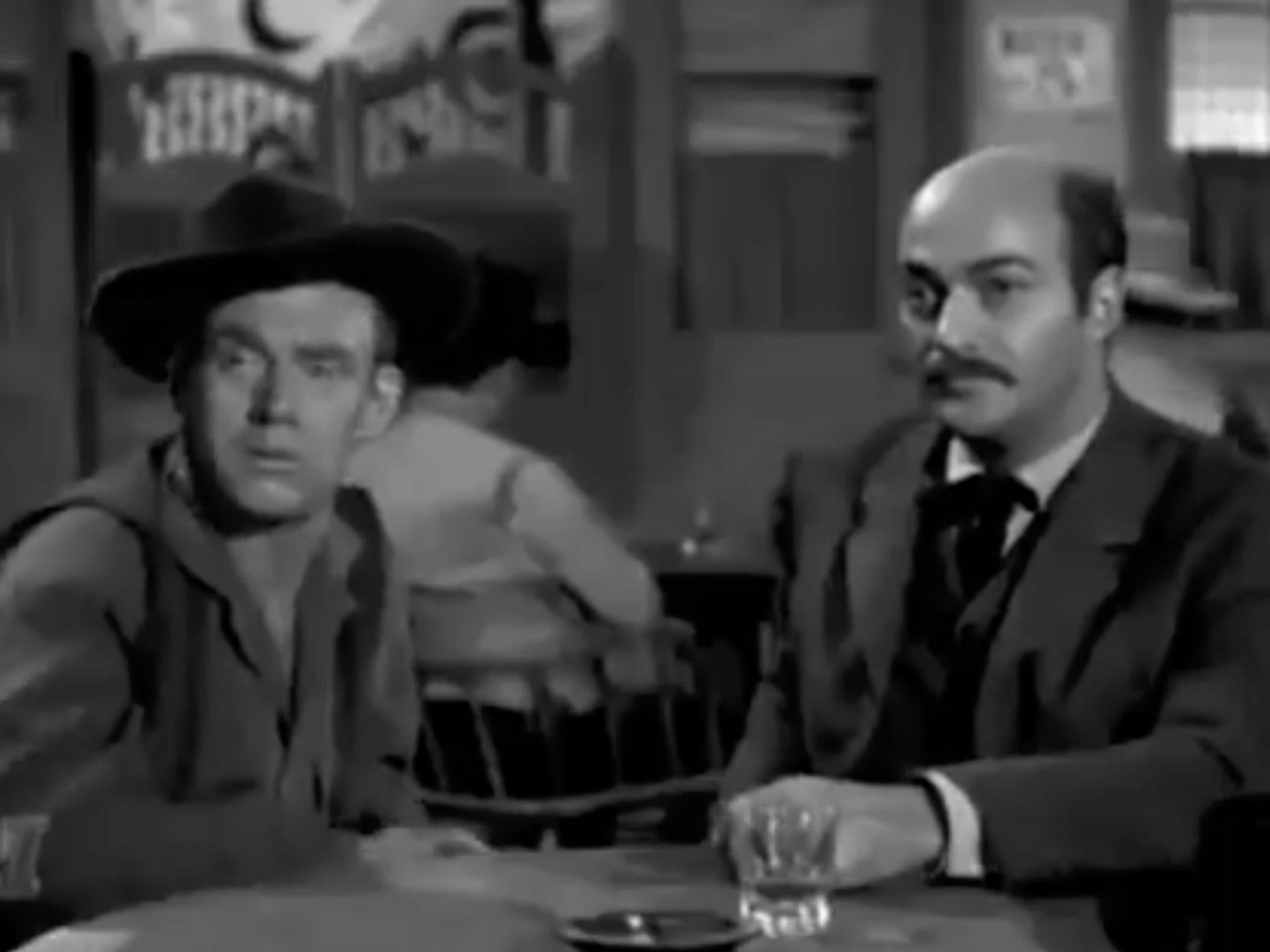 TV show from the 50s features man called Trump who wanted to build a wall. It doesn't end well