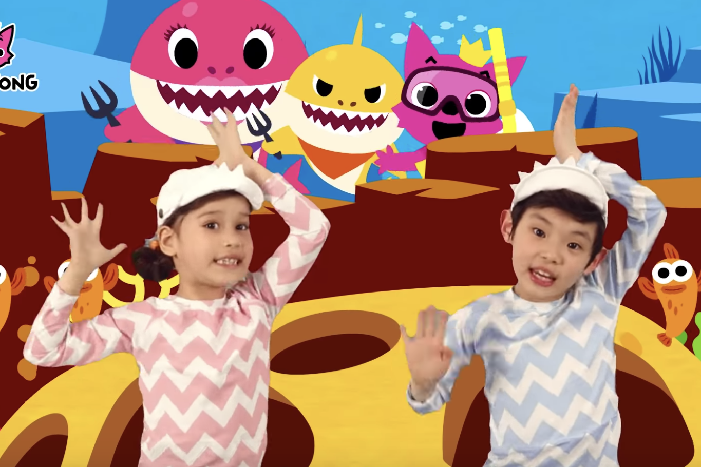 5b02602b Baby Shark song makes top 40 on Billboard 100 ranking | The Independent