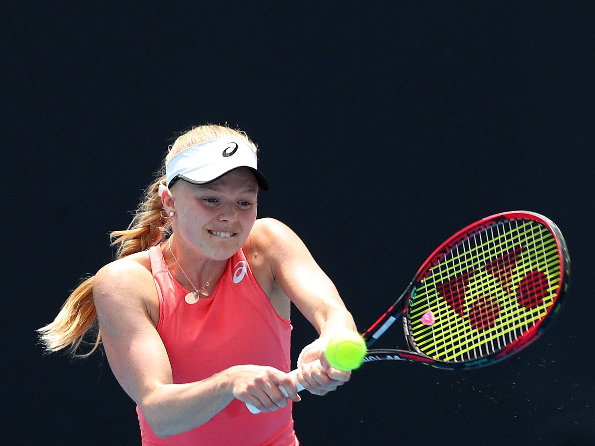 Australian Open 2019: Harriet Dart to face Maria Sharapova after qualifying for Grand Slam for the first time