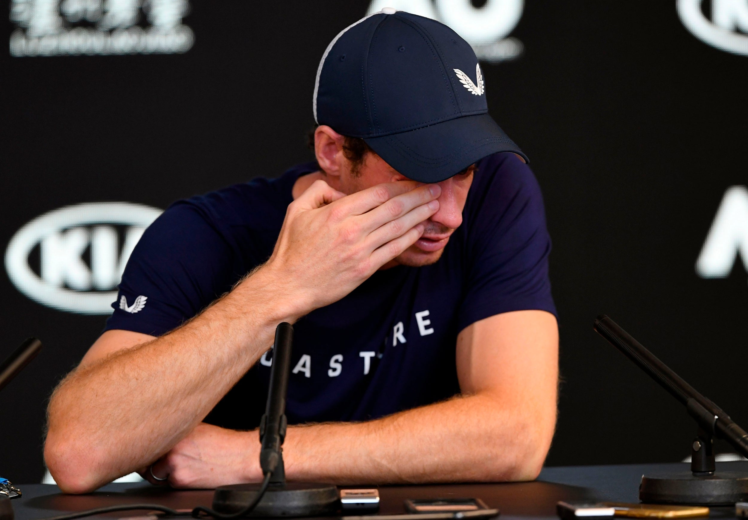 Andy Murray retirement: Scot ends emotional day with hug from mum Judy ahead of Australian Open