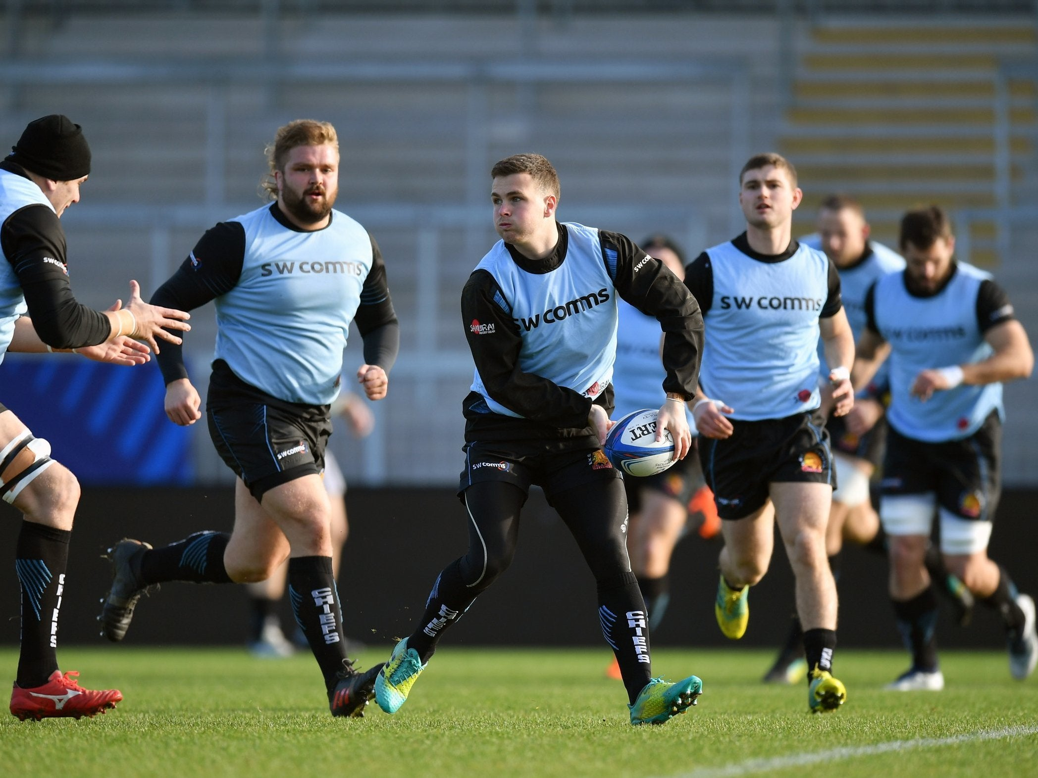 Rejuvenated Joe Simmonds ready to give life to Exeter' Heineken Champions Cup aspirations