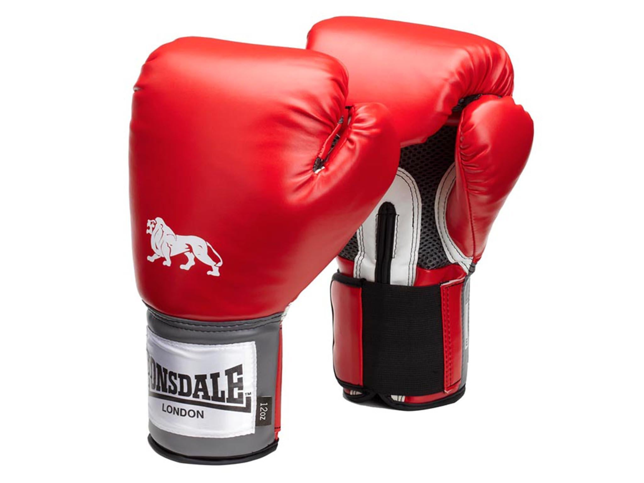 UKBOX lace up boxing gloves training 10oz 12oz 14oz