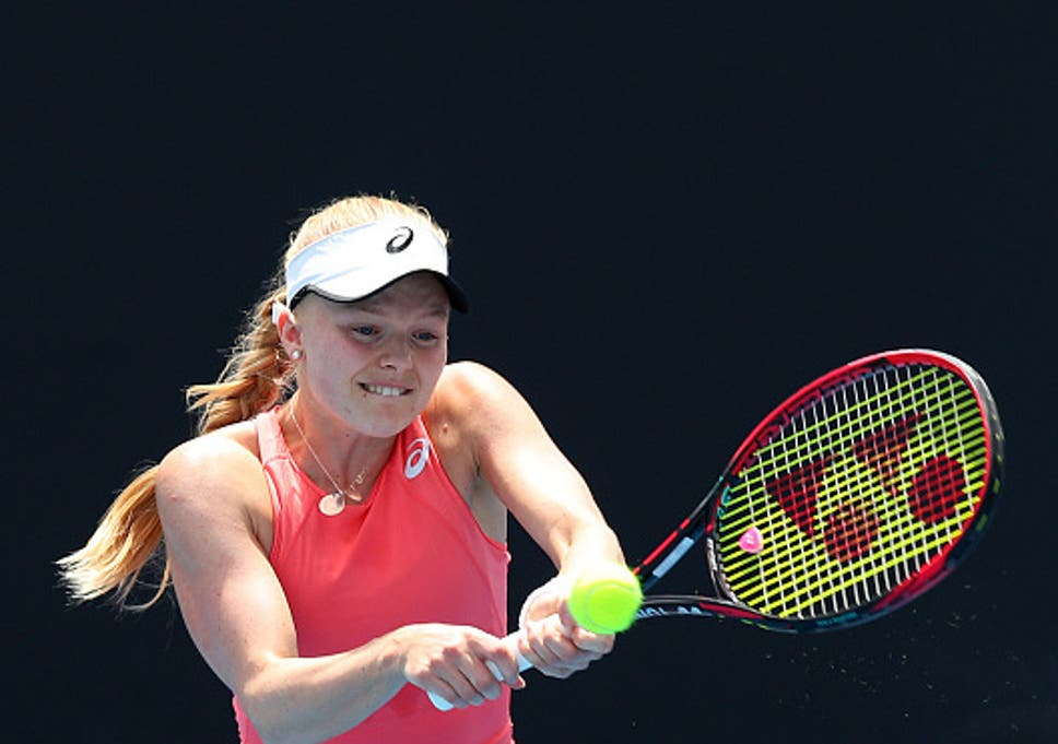 Harriet Dart Ready To Dethrone Childhood Hero Maria Sharapova At