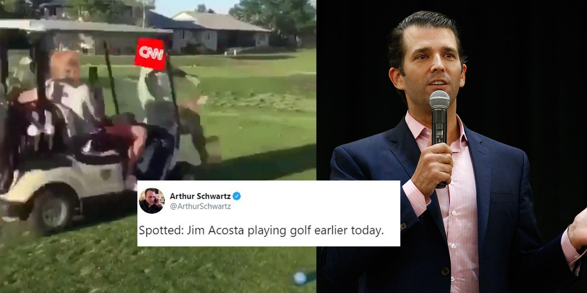 retweets Jr CNN