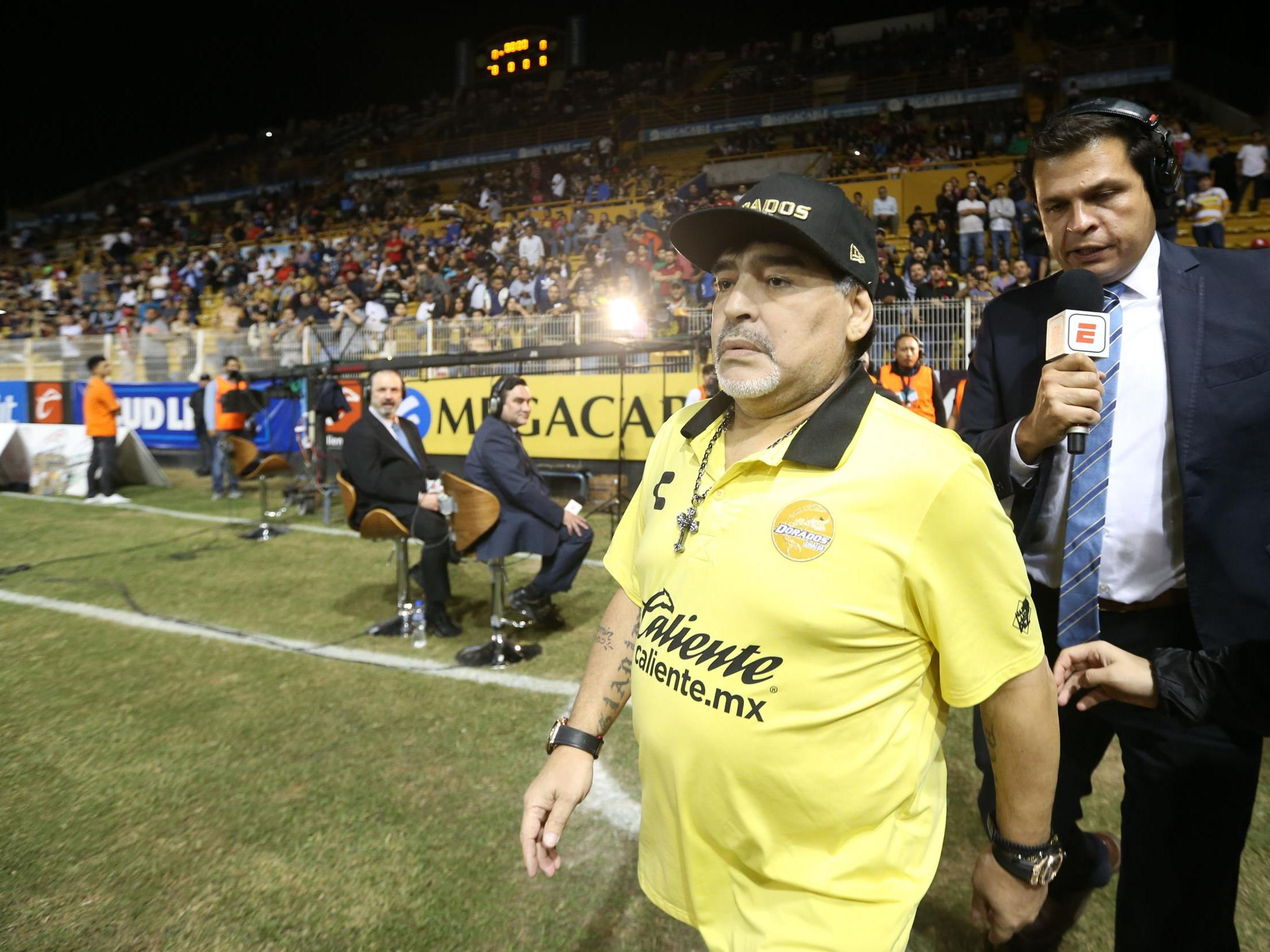Diego Maradona Recovering In Hospital After Surgery The Independent The Independent