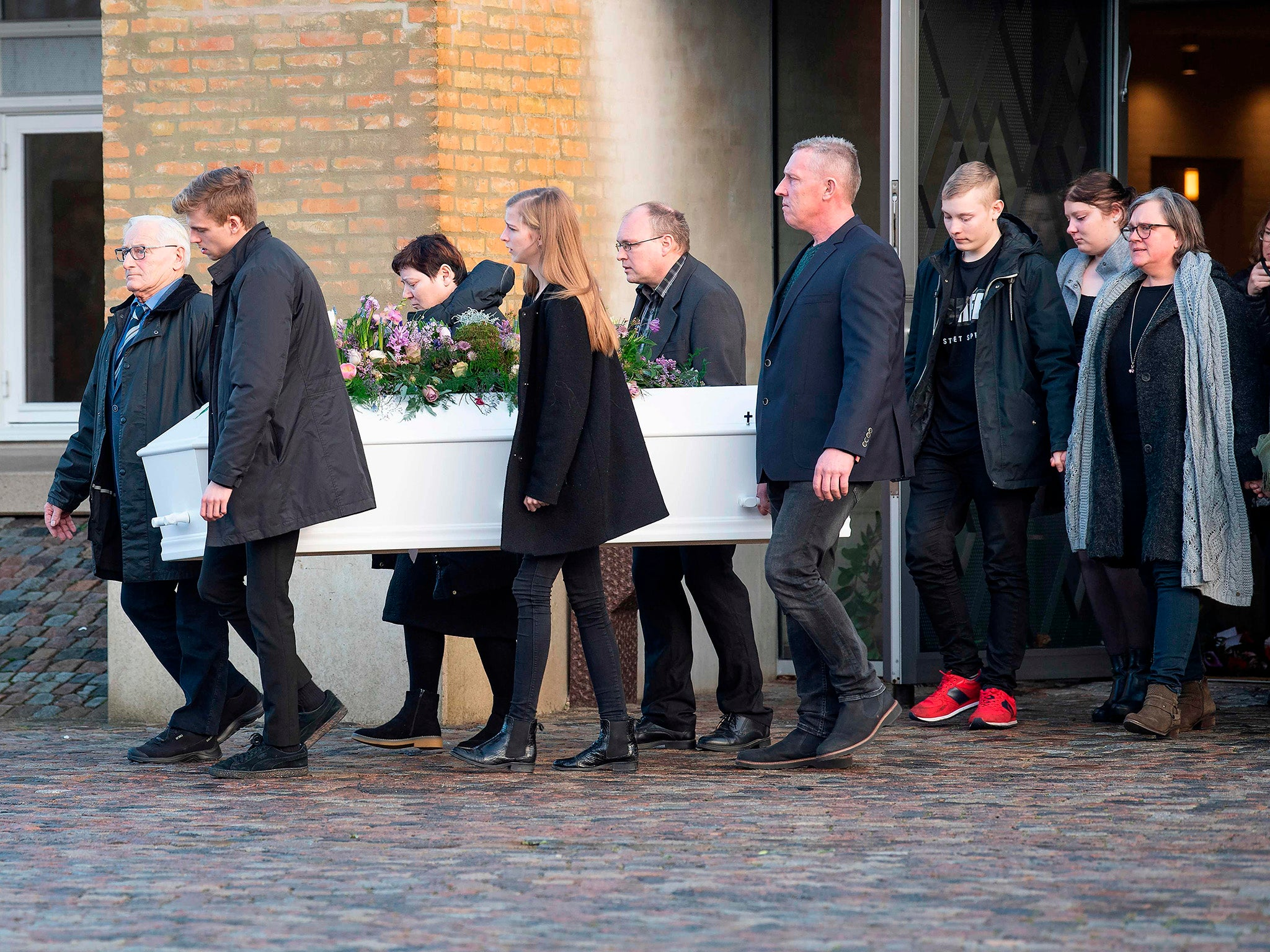 Danish PM attends funeral for tourist murdered in Morocco