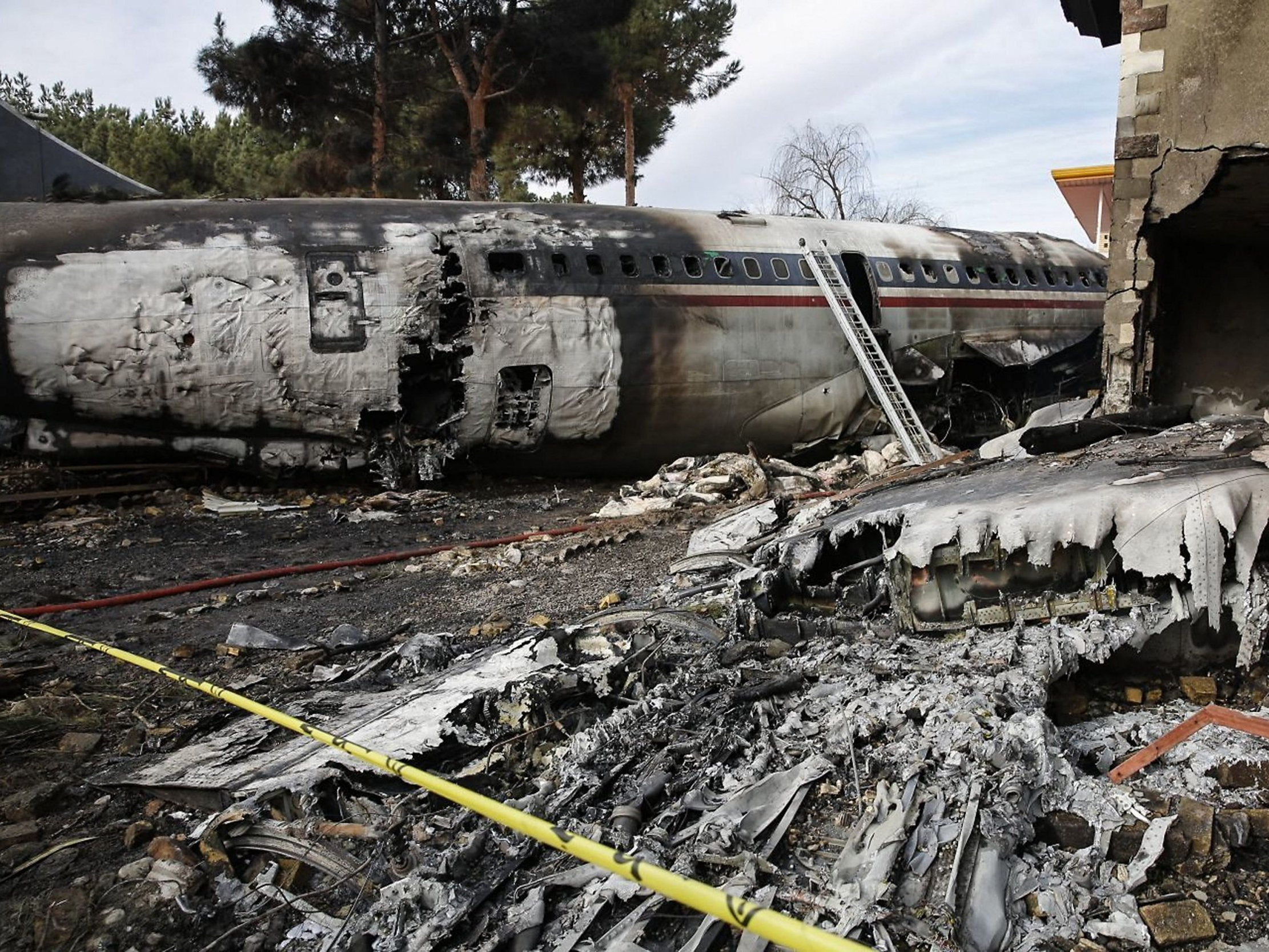 Iran plane crash: At least 15 killed after military cargo