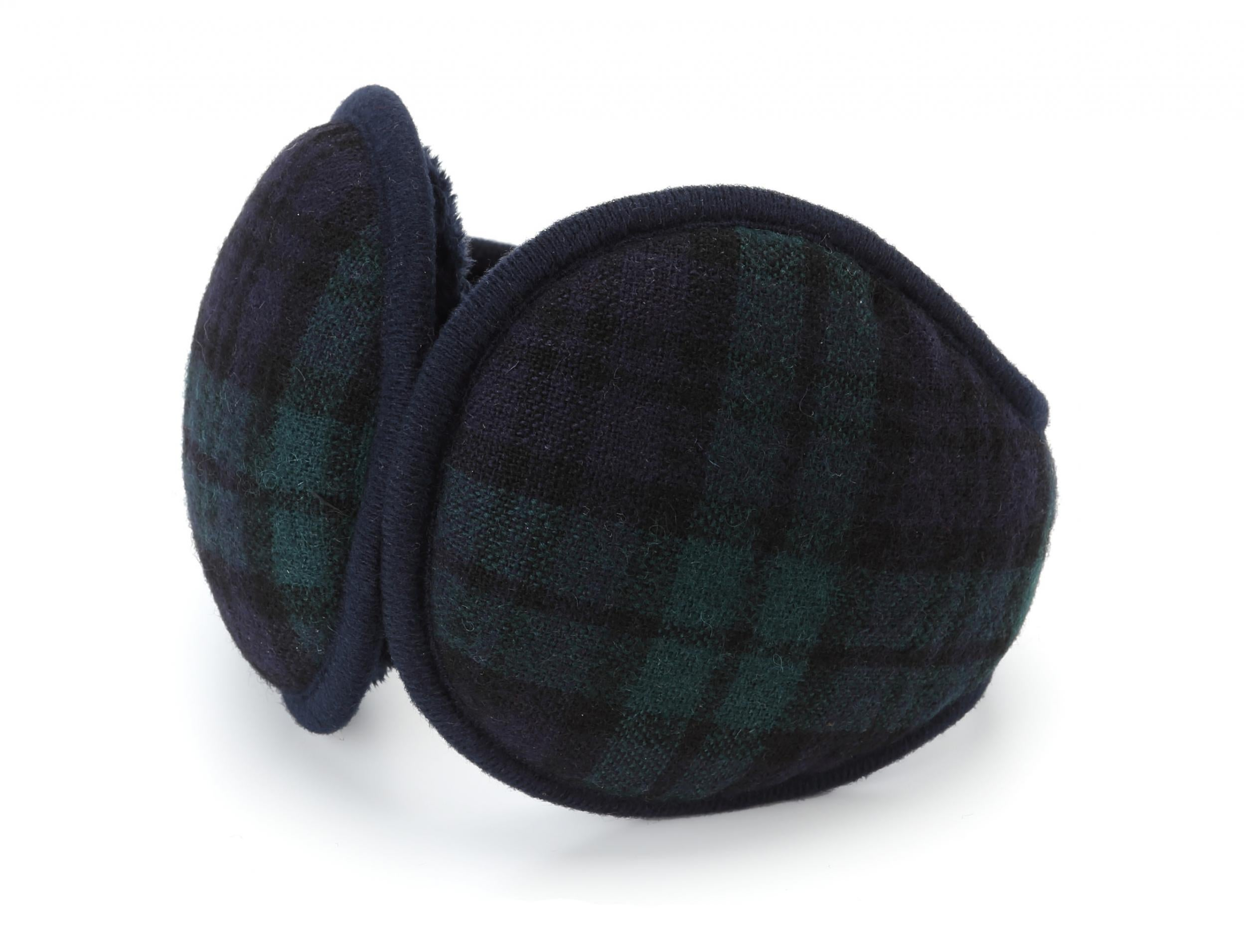 Bridge Soccer Football Sports Winter Earmuffs Ear Warmers Faux Fur Foldable Plush Outdoor Gift