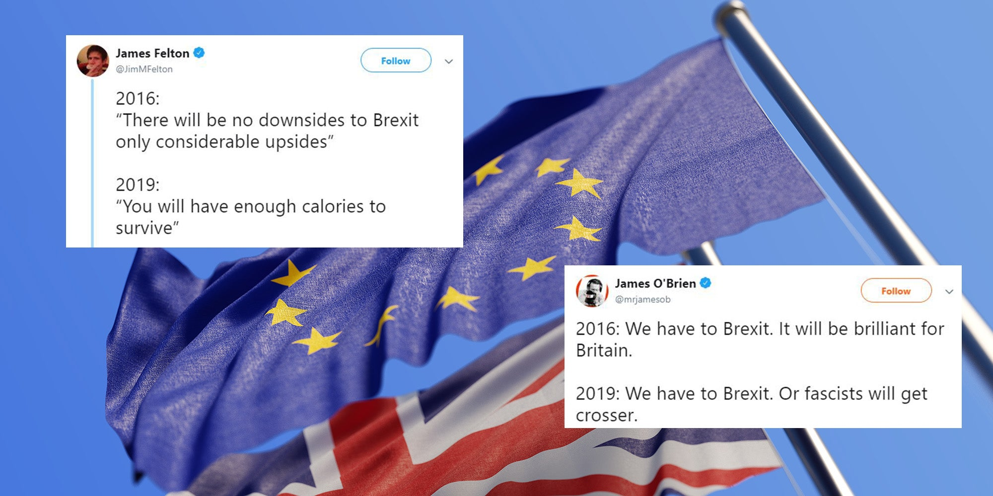 Here are some of the best reactions to brexit 2016 vs brexit 2019