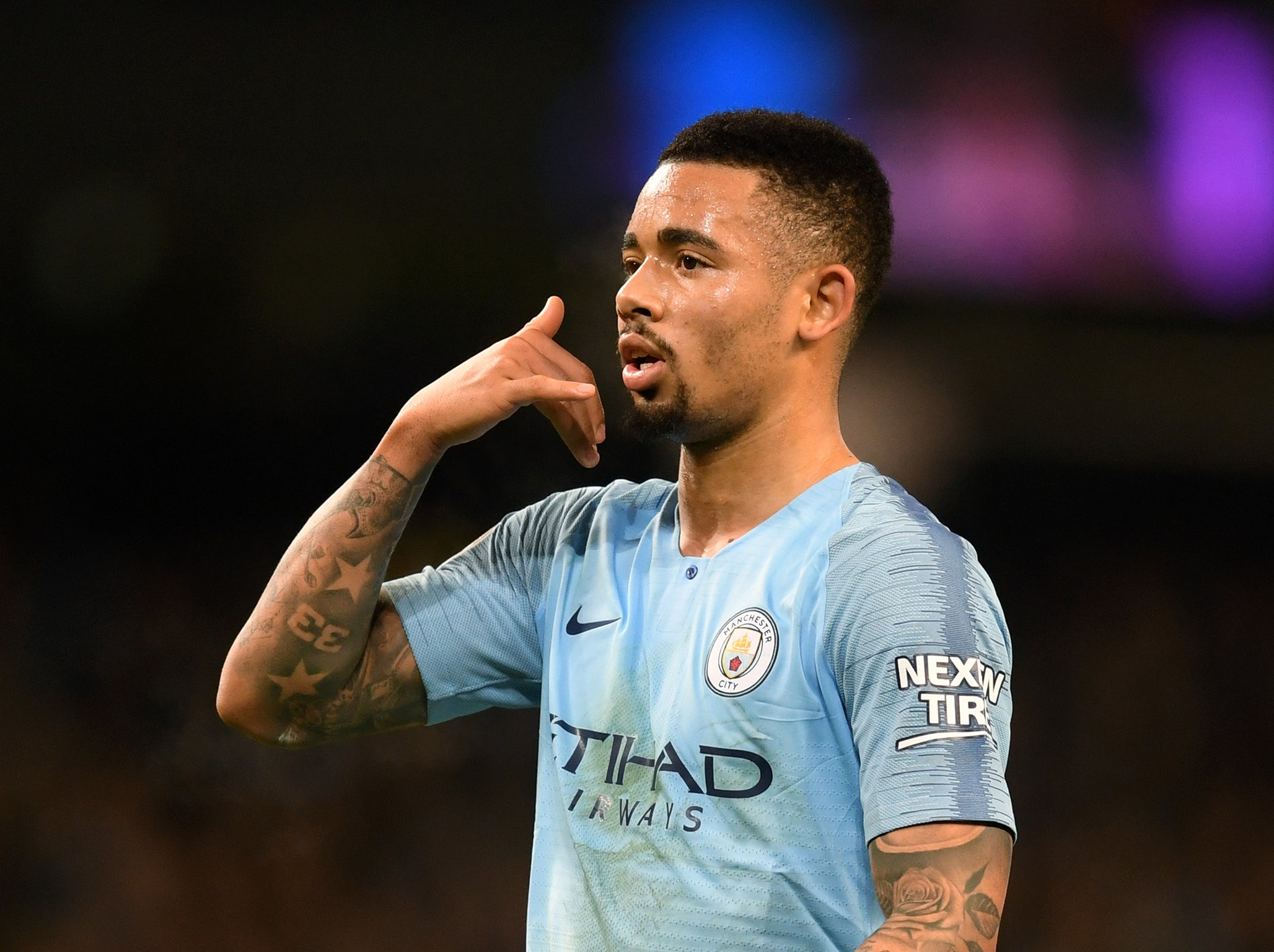 Gabriel Jesus claims he's 'on fire' after continuing hot streak to inspire Manchester City in rout over Burnley