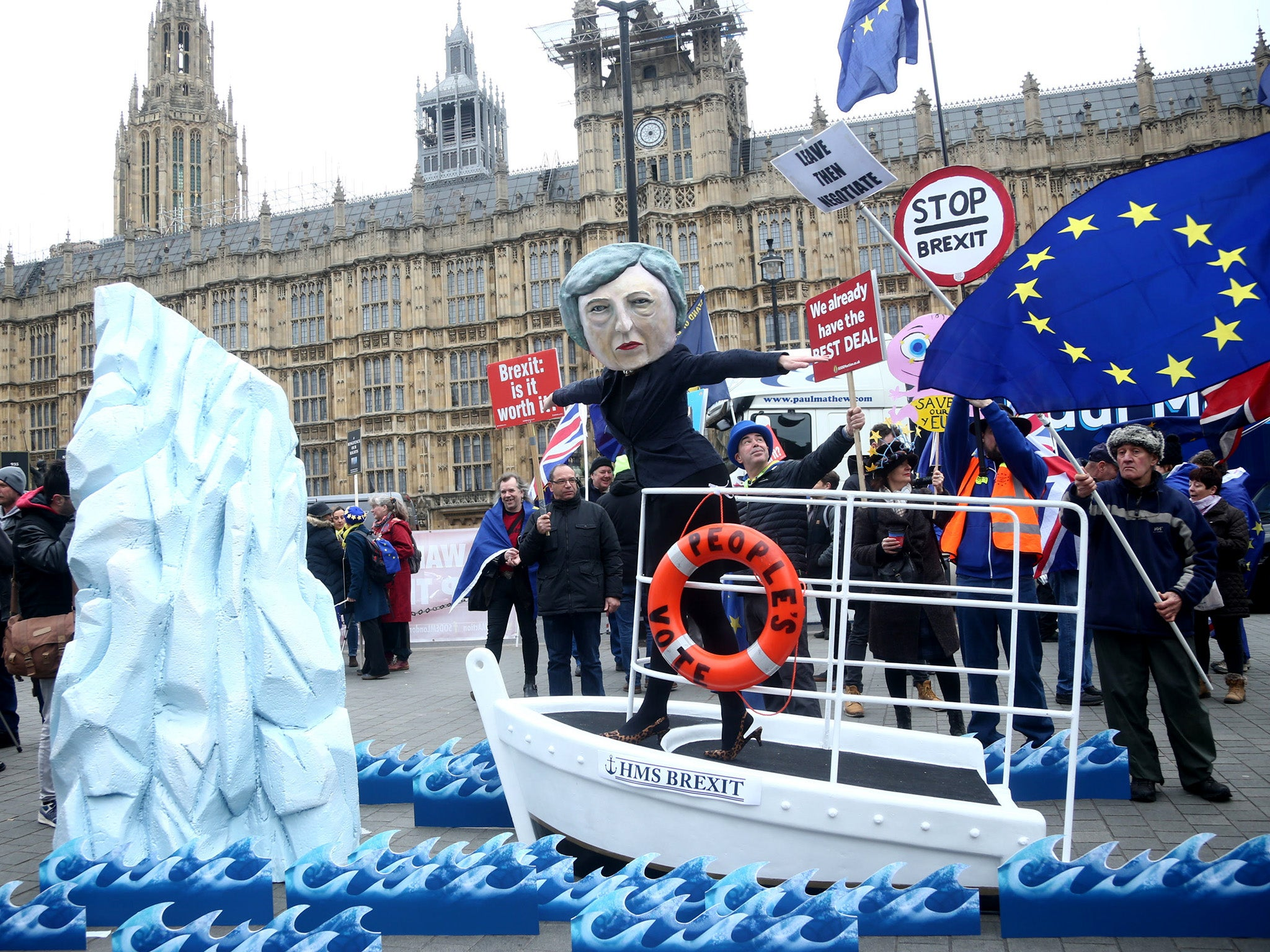 May and Corbyn are steering a ship of fools on to the Brexit rocks – a Final Say referendum could stop them