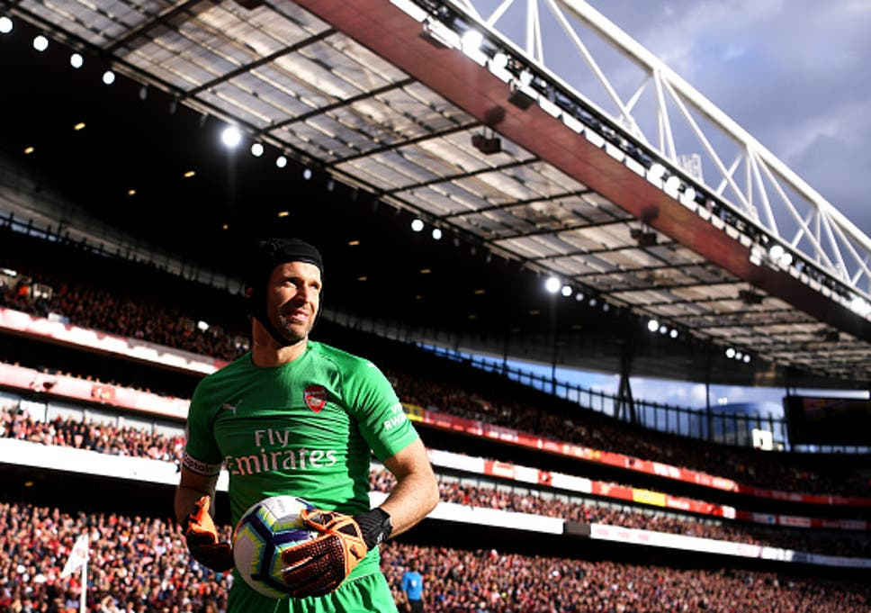 bbc687213c0 Petr Cech retires: Arsenal goalkeeper to call time on career at end of  season. '