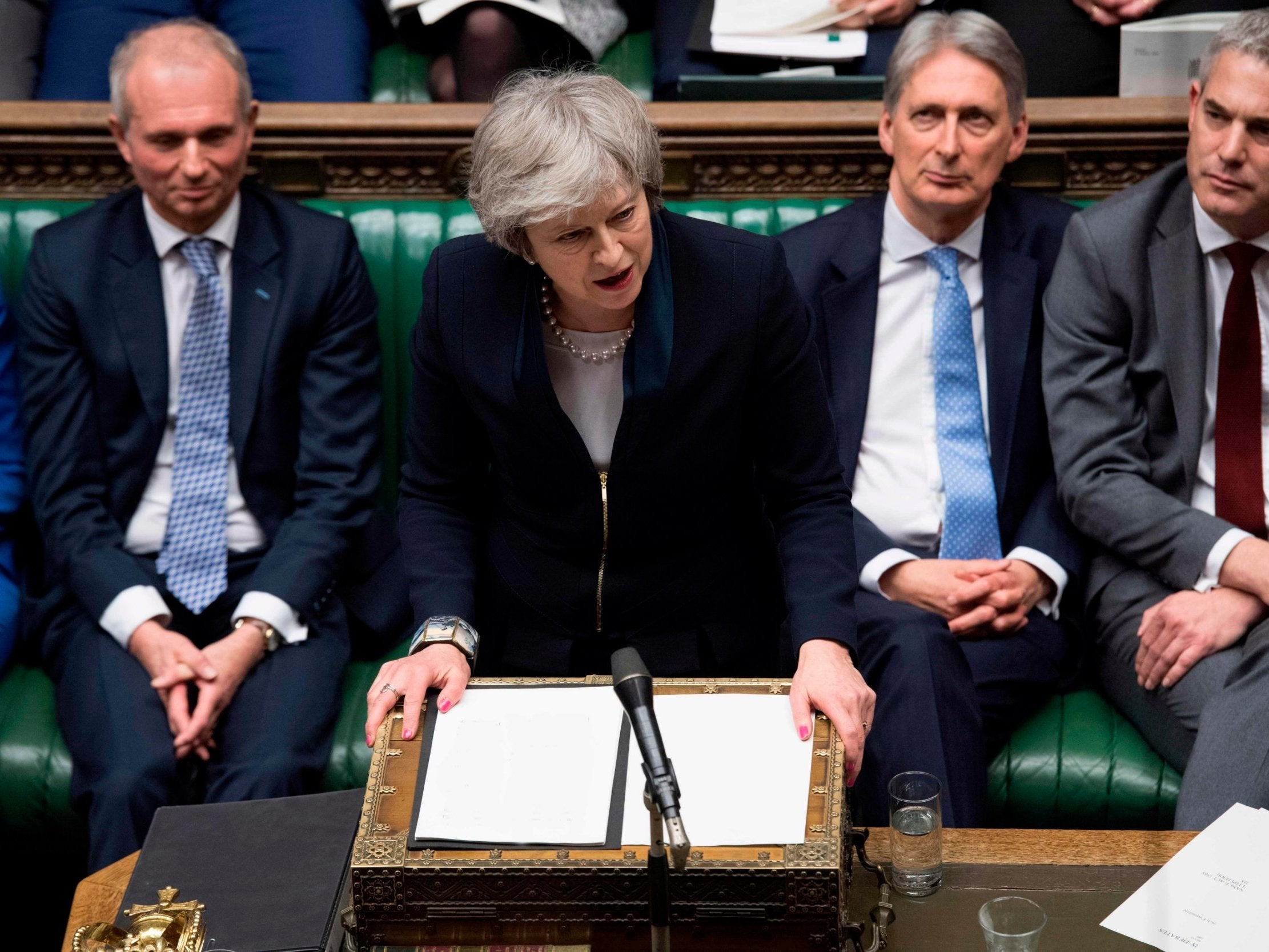 Theresa May has just hours to save her government after the defeat of the Brexit defeat - live follow - The Independent