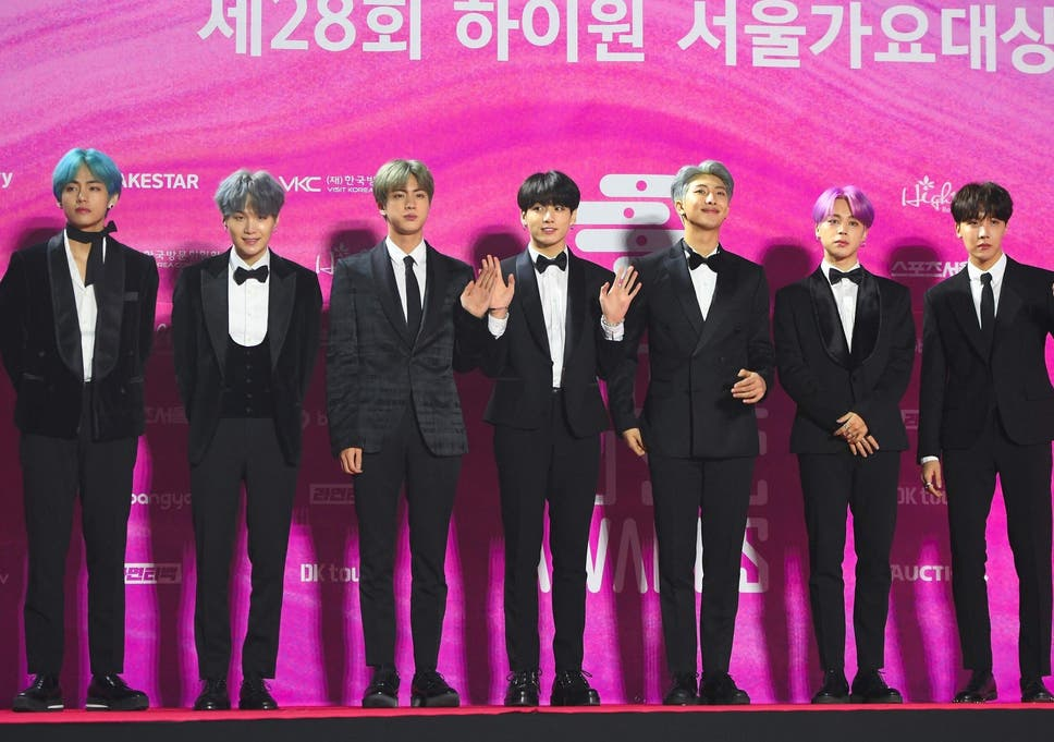 BTS are presenting an award at this year's Grammys ceremony, according to  reports