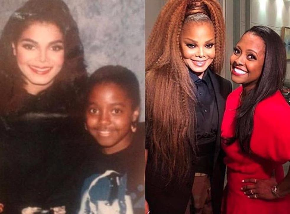 Janet Jackson and Keshia Knight Pulliam joined forces for the 10 year challenge
