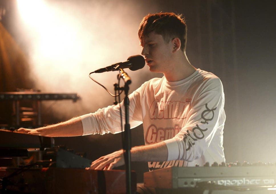 60cf628a James Blake's decor may be going minimalist, but he's continuing with  musical maximalism for his