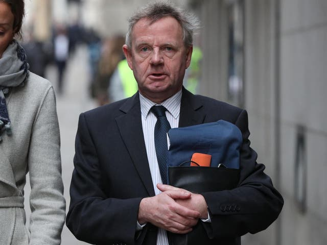 Pilot Andrew Hill is now on trial at the Old Bailey, accused of manslaughter by gross negligence