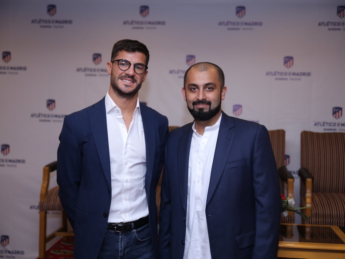 4f2c9759238 Atletico Madrid unveil ambitious plans to boost football in Pakistan ...