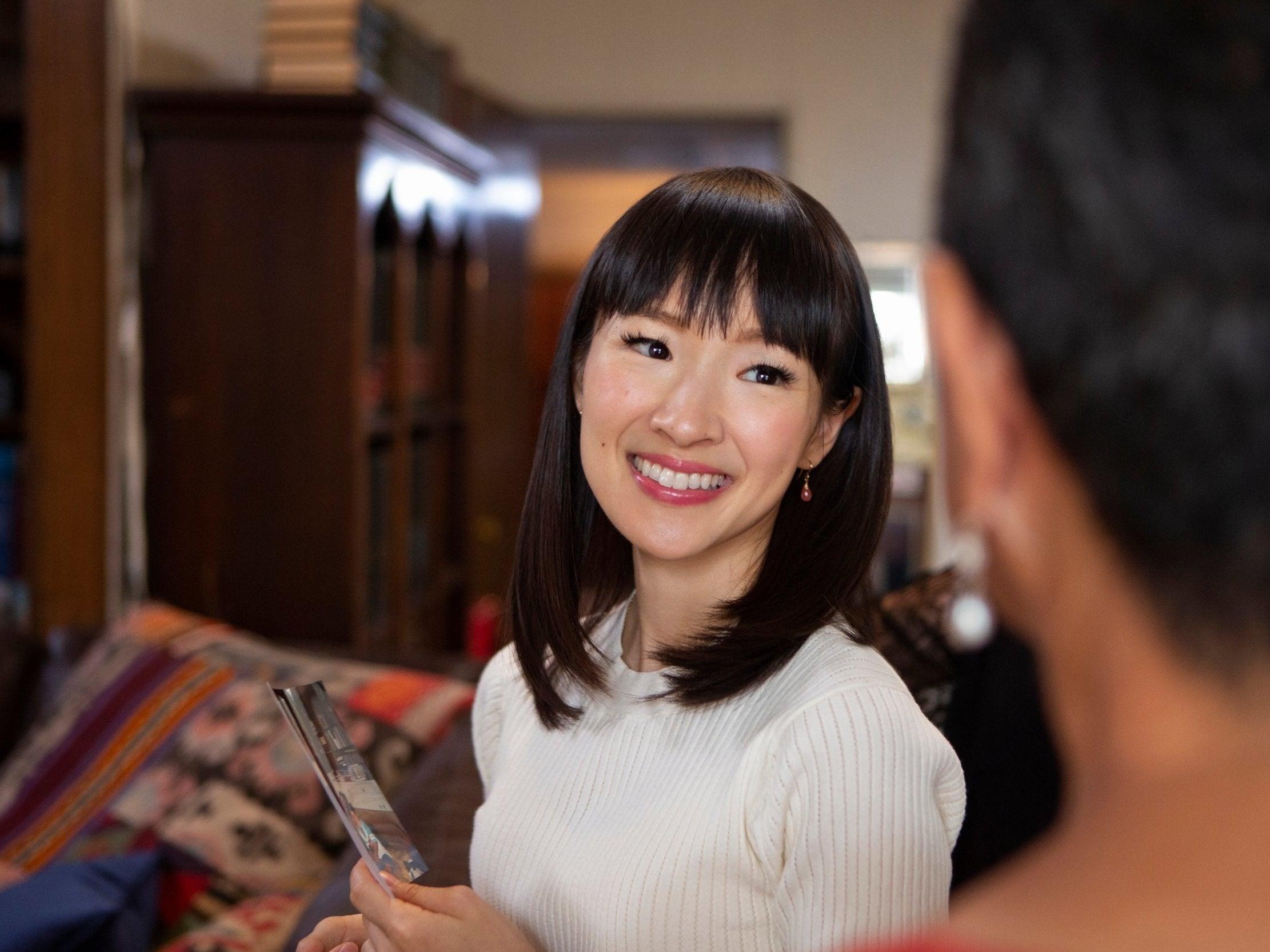 Marie Kondo on how to apply the KonMari method to your makeup bag