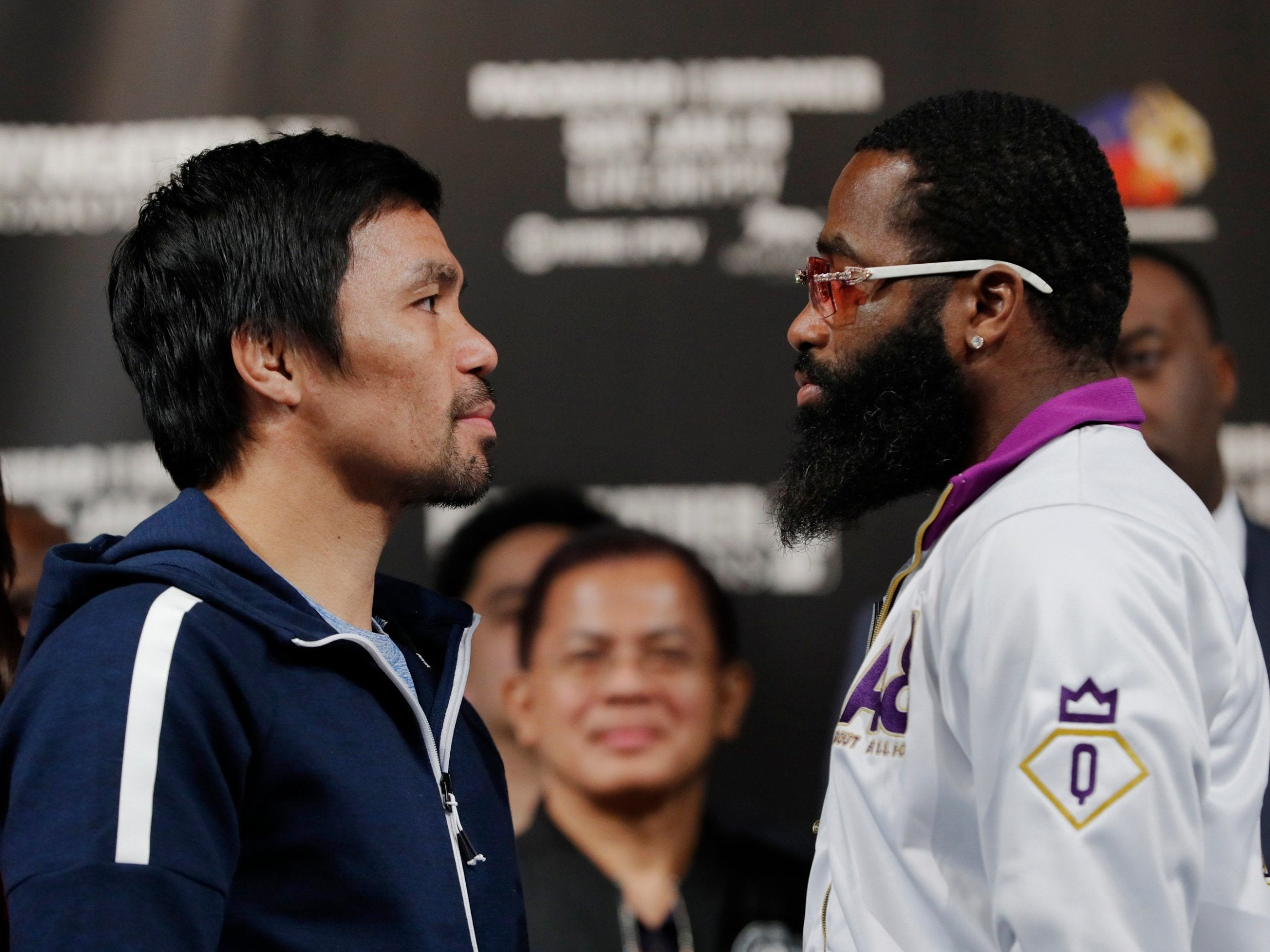 Manny Pacquiao vs Adrien Broner: American promises to 'beat up' Pacman and start a Las Vegas 'block party'
