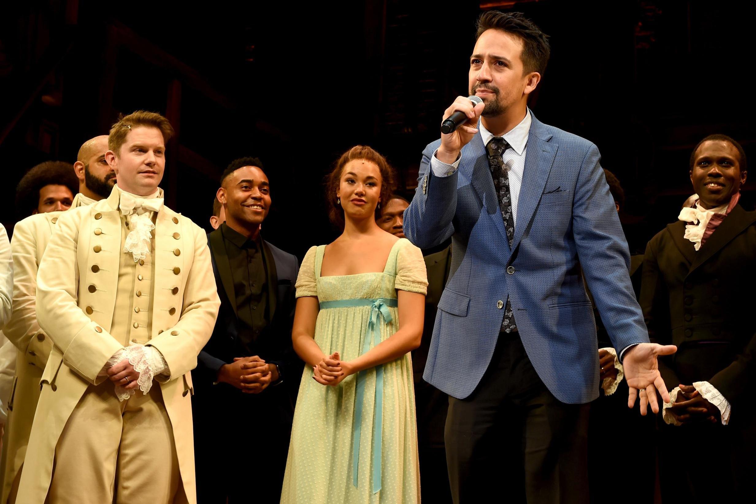 Lin-Manuel Miranda changes Hamilton lyrics during Puerto