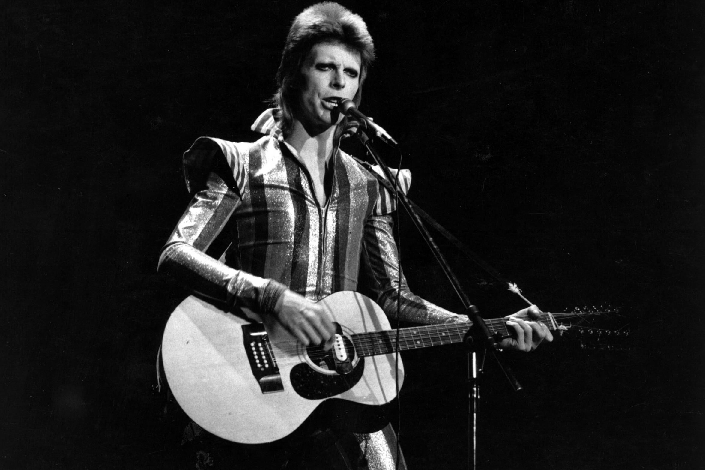 David Bowie named greatest entertainer of the 20th century, poll finds