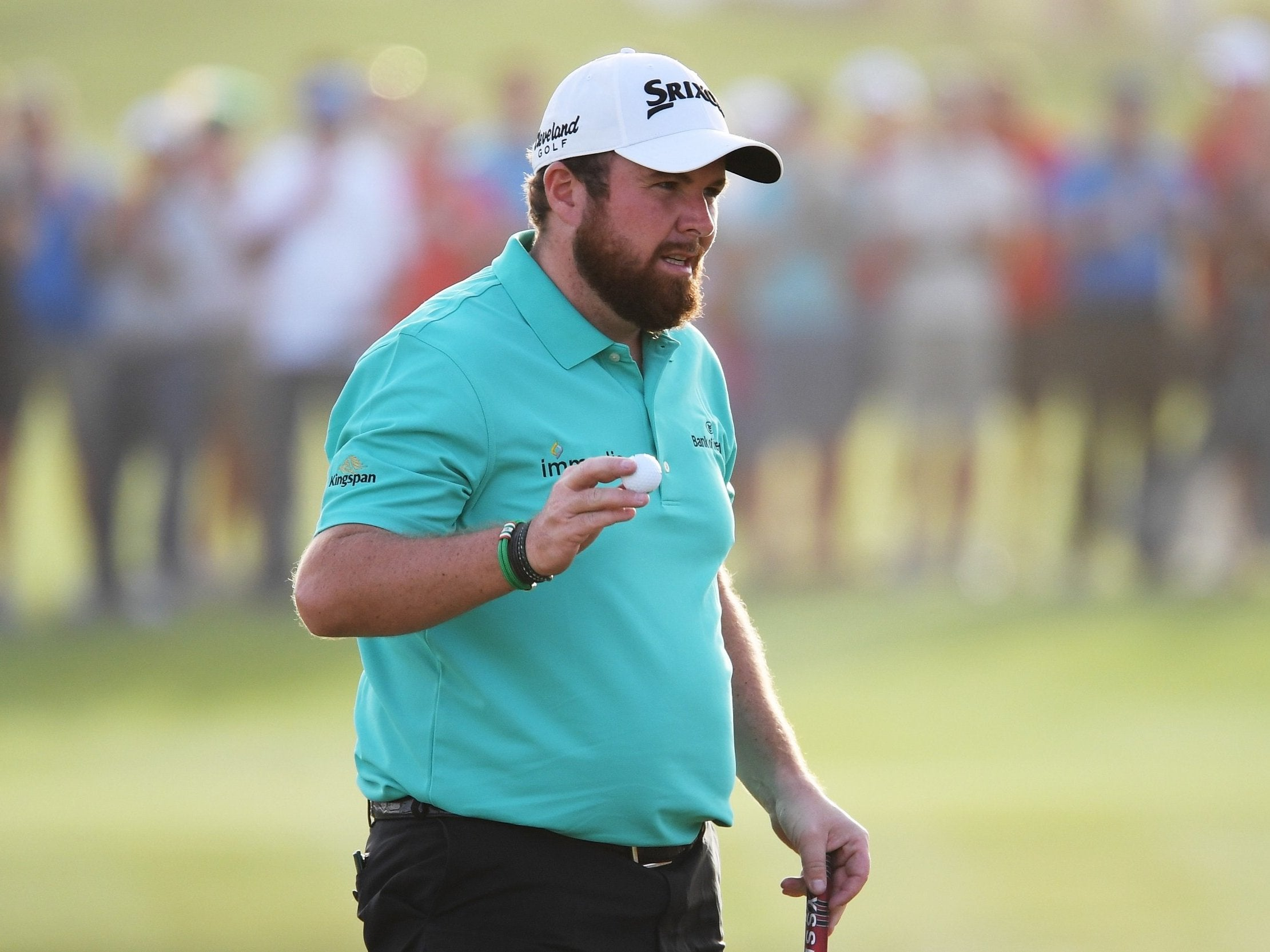 Abu Dhabi HSBC Championship: Shane Lowry verges on first win in three years as Louis Oosthuizen slips