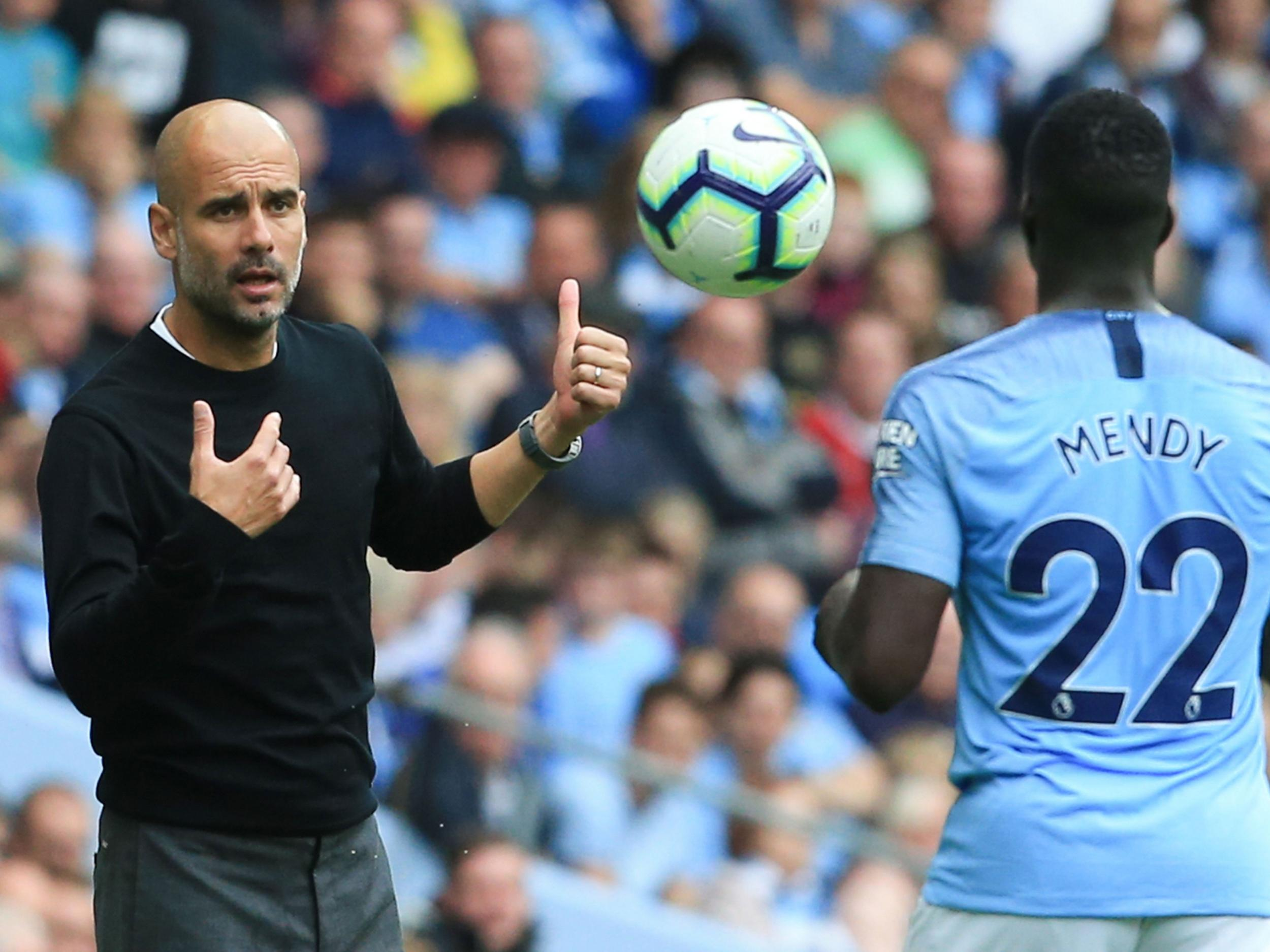 Manchester City team news: Pep Guardiola to welcome back Benjamin Mendy for Carabao Cup clash vs Burton Albion