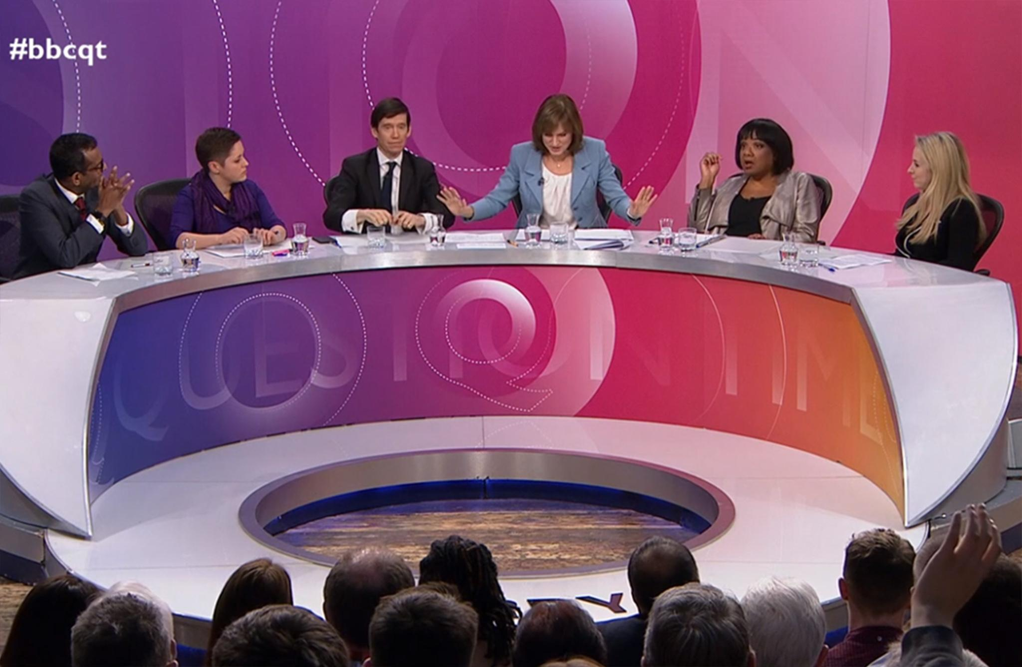 Labour requests BBC footage of Fiona Bruce Question Time 'joke' about Diane Abbott and demands on-air correction