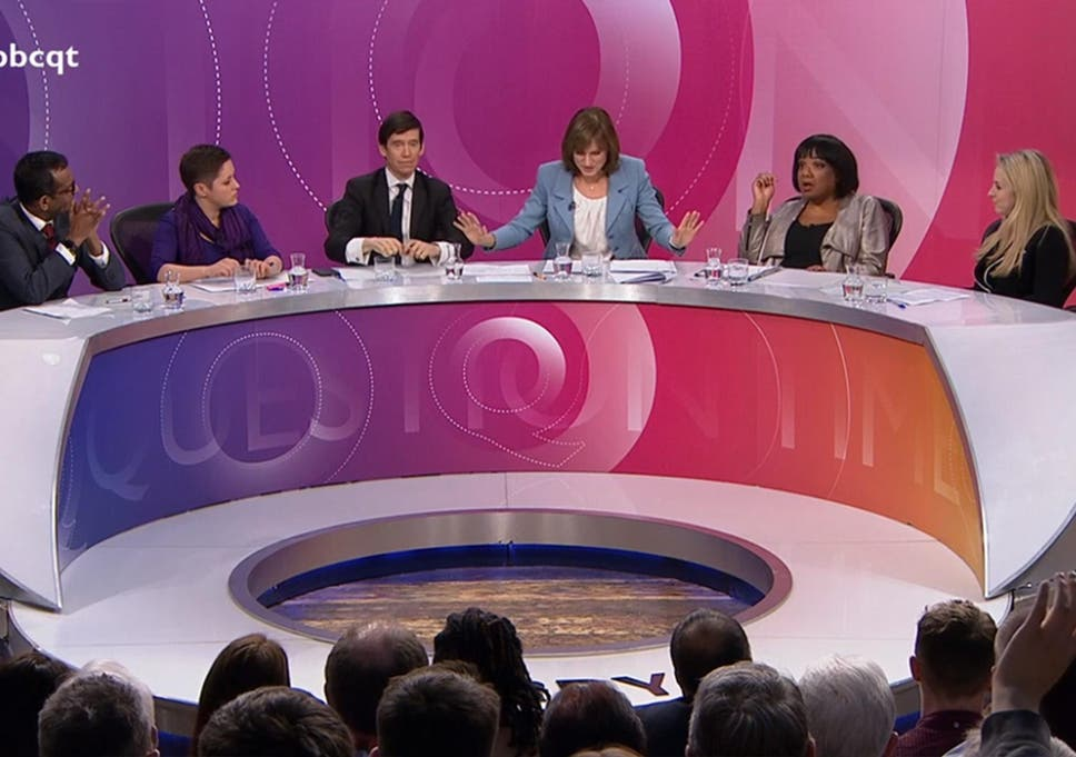 Diane Abbott's treatment on 'Question Time' proves media and