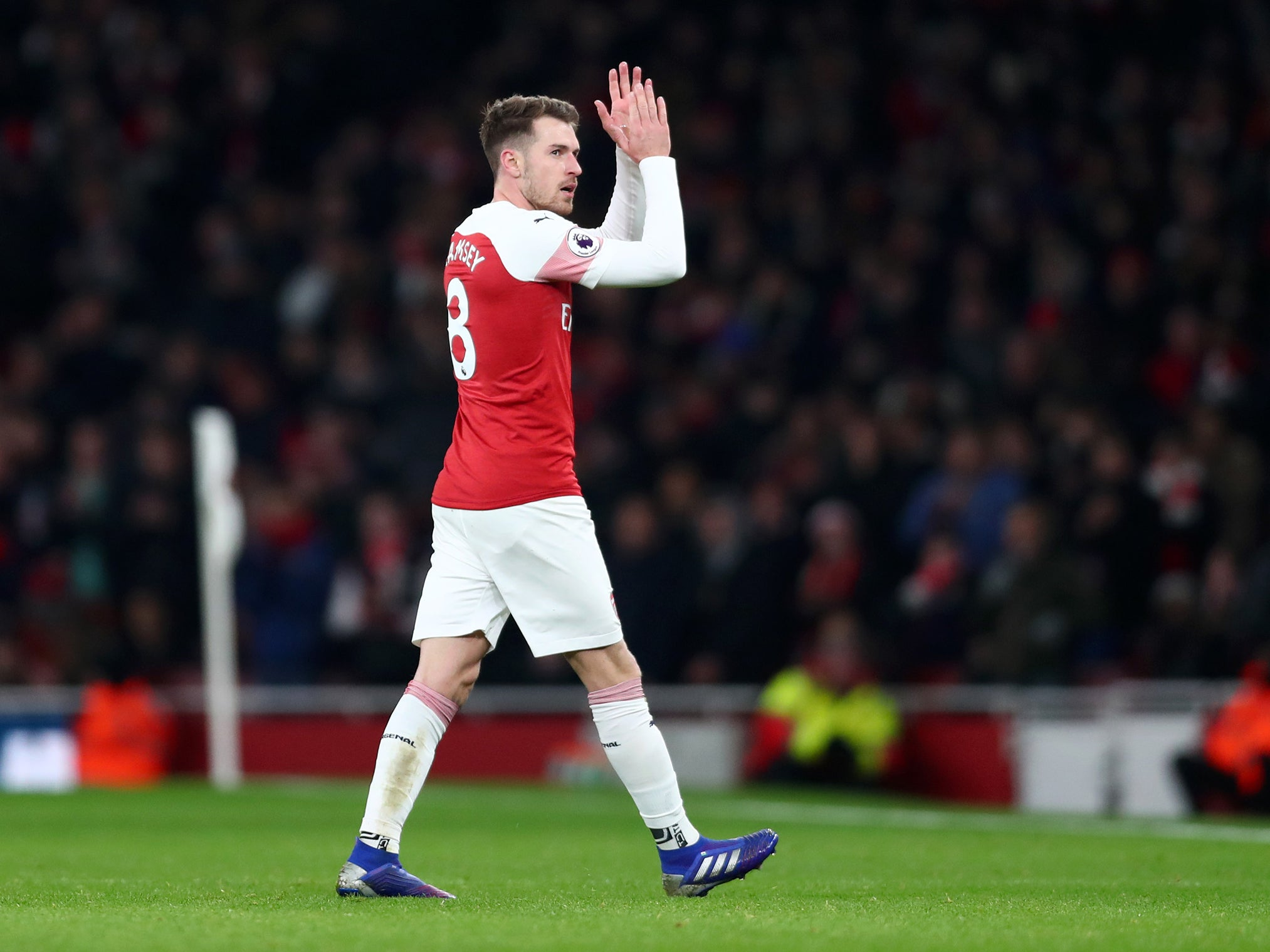 Arsenal news: Unai Emery delighted with Aaron Ramsey's attitude ahead of Juventus free transfer