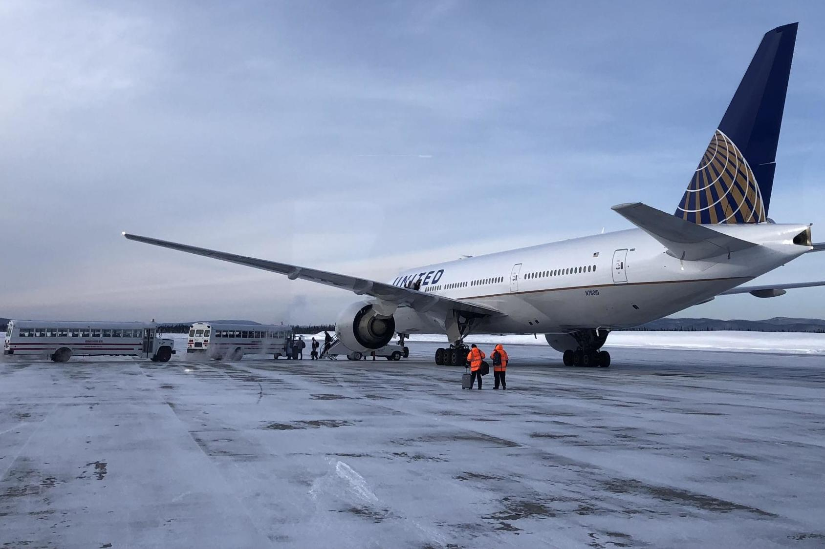 United Airline's 26-hour flight via the Arctic: What really happened