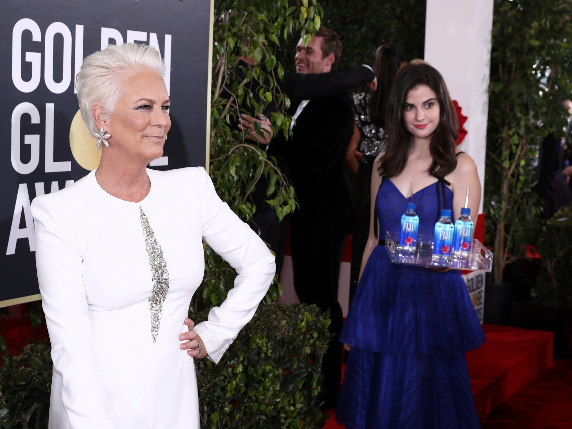 Golden Globes' Fiji Water Girl snags role in US TV show The Bold and the Beautiful
