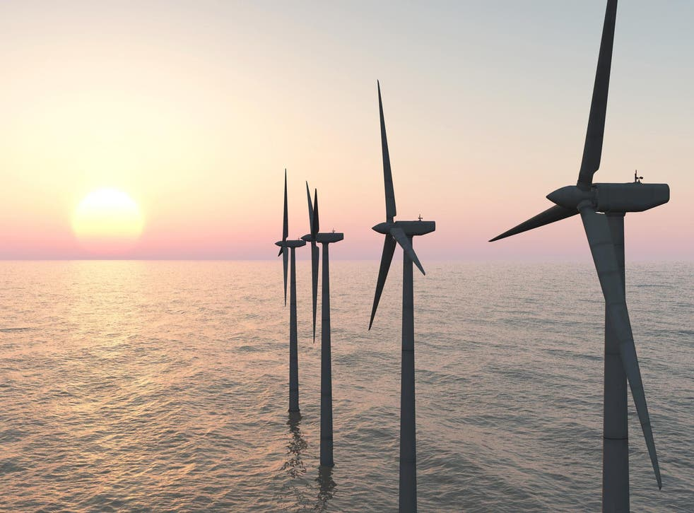 Green energy sources have more than doubled their contribution to Britain's energy mix in a decade