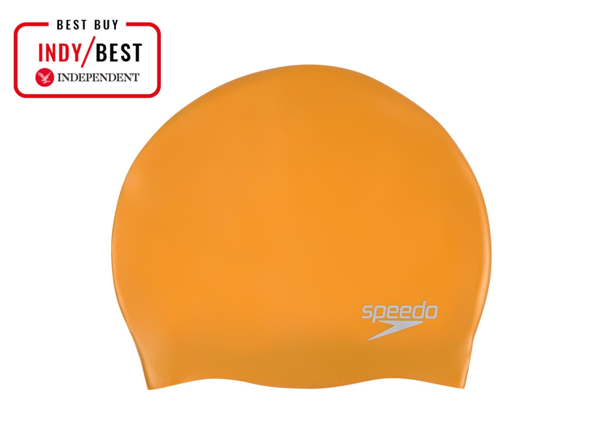7e2b71d3130 Speedo Plain Moulded Silicone Cap  £9