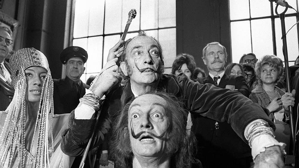 The madcap film career of Salvador Dalí: From Buñuel to Hitchcock to