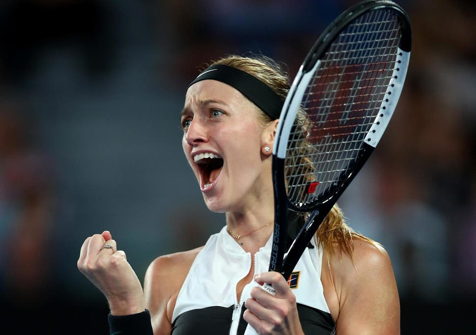 Australian Open 2019 Petra Kvitova Reaches First Grand Slam Semi