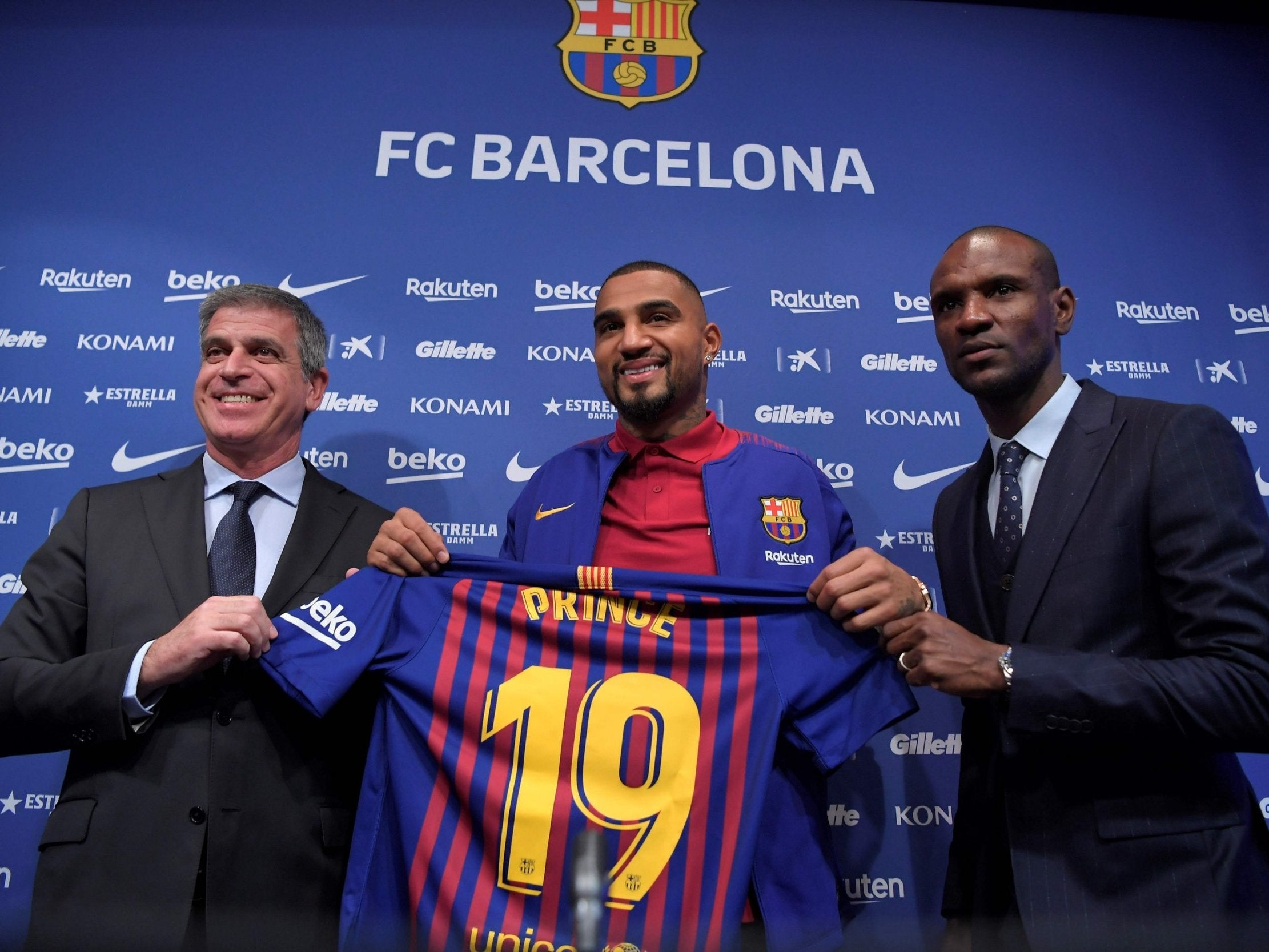 Barcelona transfer news: Kevin-Prince Boateng vows to earn permanent move to the Nou Camp