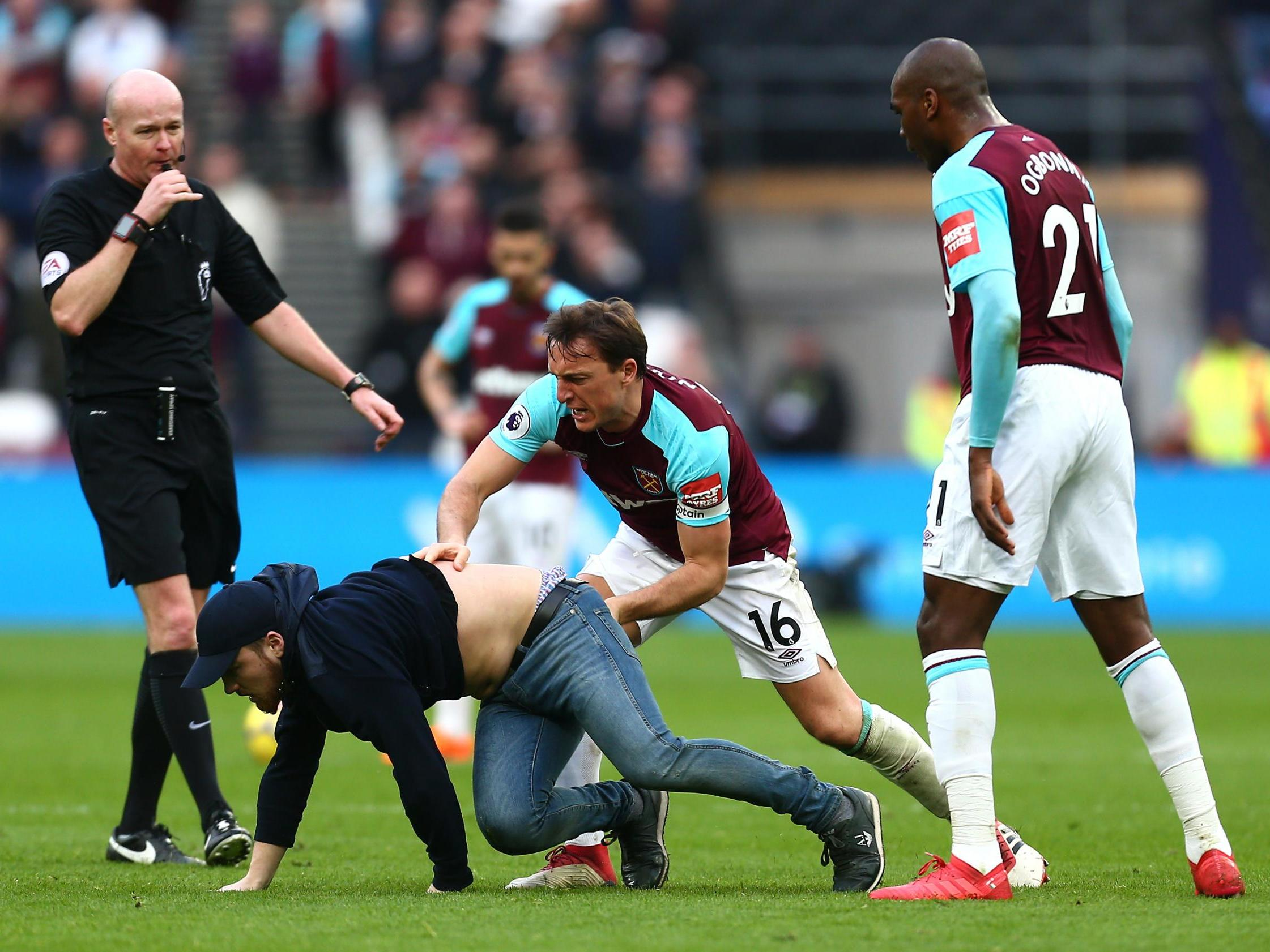 60b7b0315 West Ham fined £100,000 for crowd disturbances during Burnley clash | The  Independent