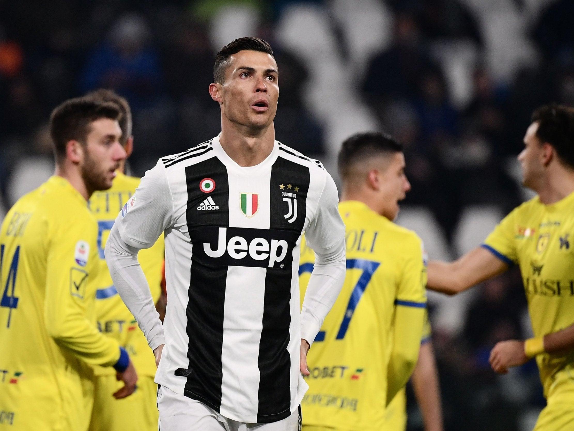 Cristiano Ronaldo reveals lost bet with Juventus manager Massimiliano Allegri