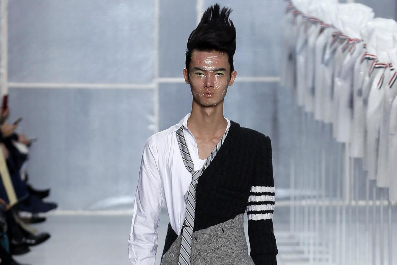 Troll doll-inspired hair is the latest style trend for men