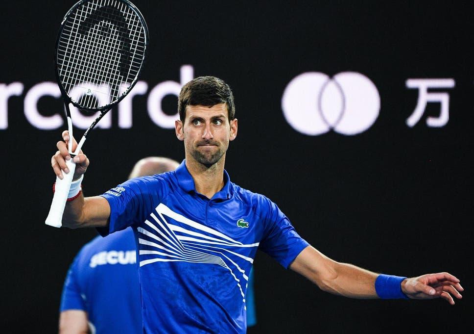 Australian Open 2019: Novak Djokovic through to semi-finals after Kei  Nishikori retires due to injury