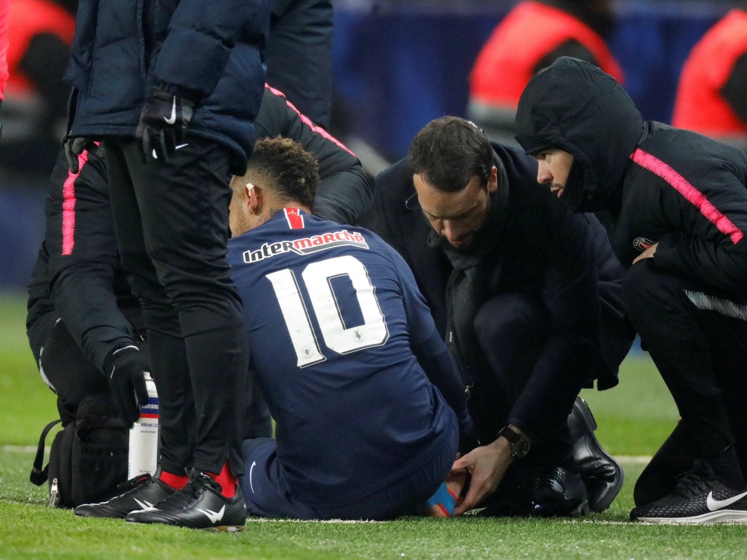 Image result for neymar injured
