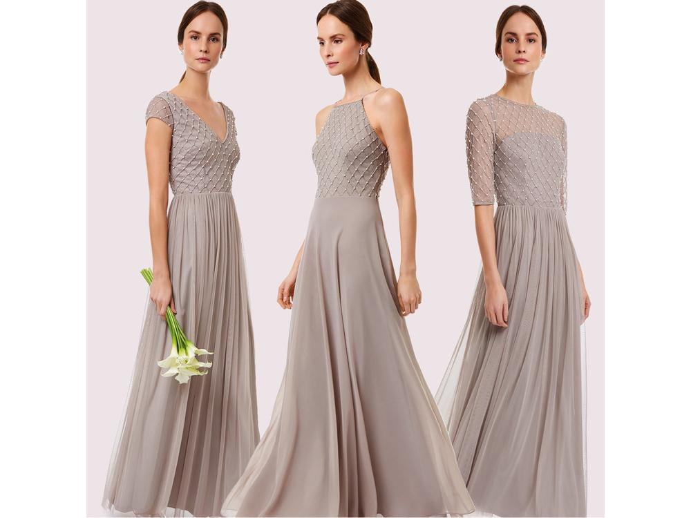 Sequin Top Bridesmaid Dresses | 11 Best High Street Brands For Bridesmaid Dresses The Independent