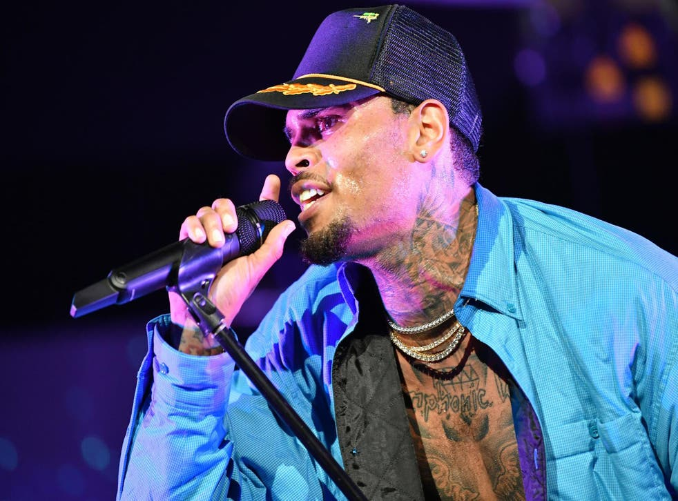 Chris Brown performs at 2018 BET Experience Staples Center Concert, sponsored by COCA-COLA, at LA Live on 22 June, 2018 in Los Angeles, California.