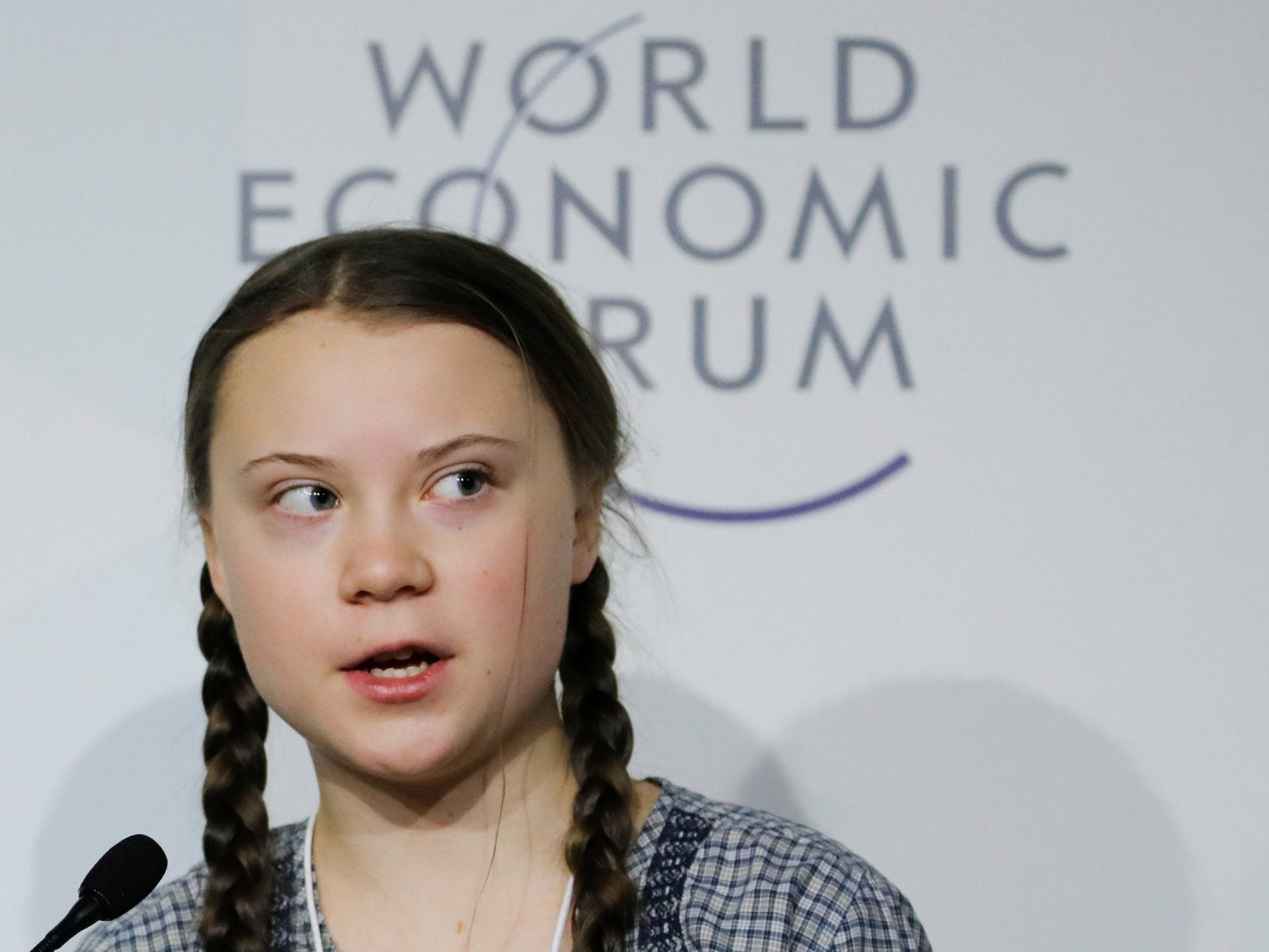 Greta Thunberg's speech at Davos shows that if anyone is going to
