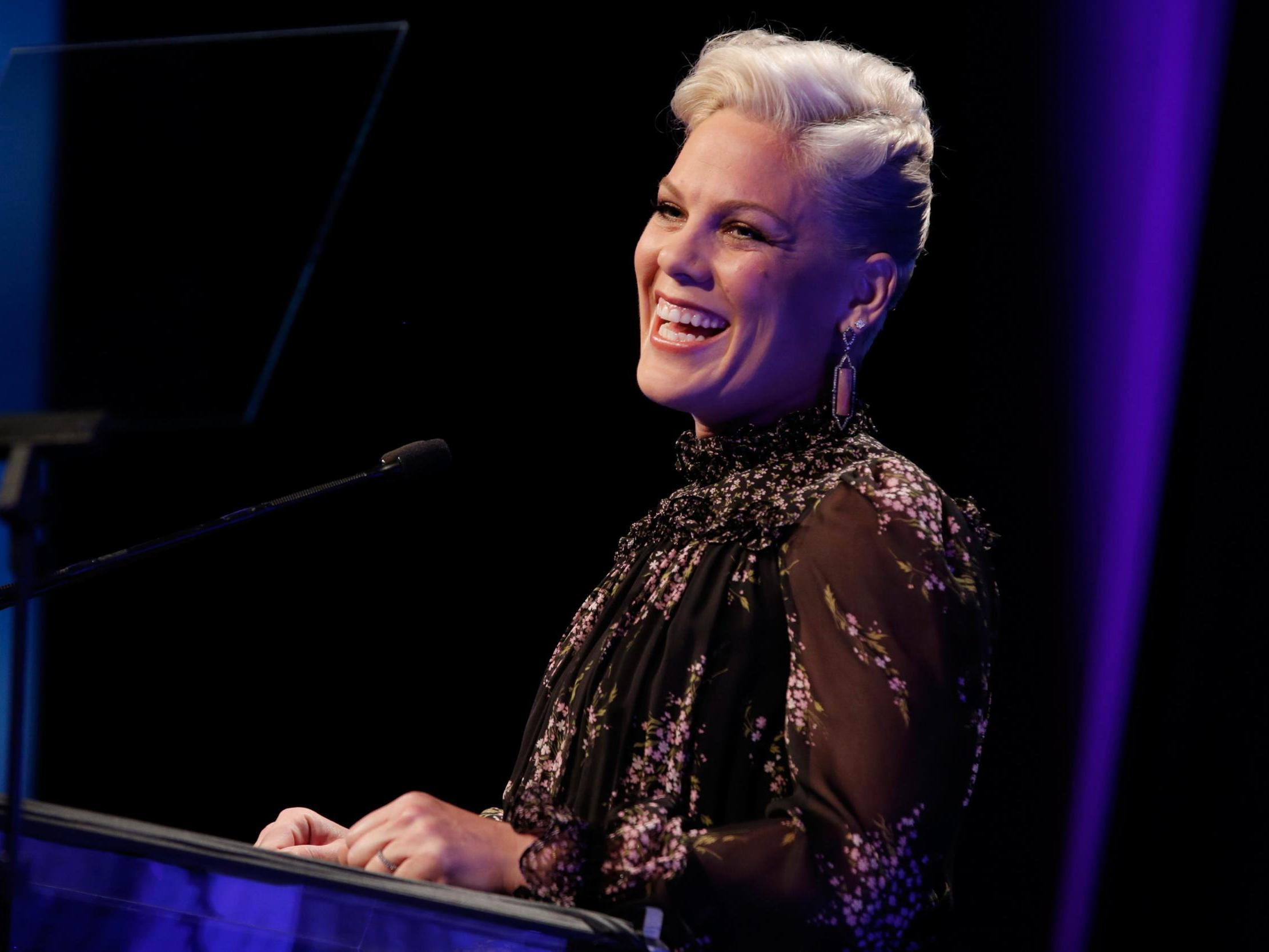 Pink fan names baby after pop star after giving birth during Liverpool concert