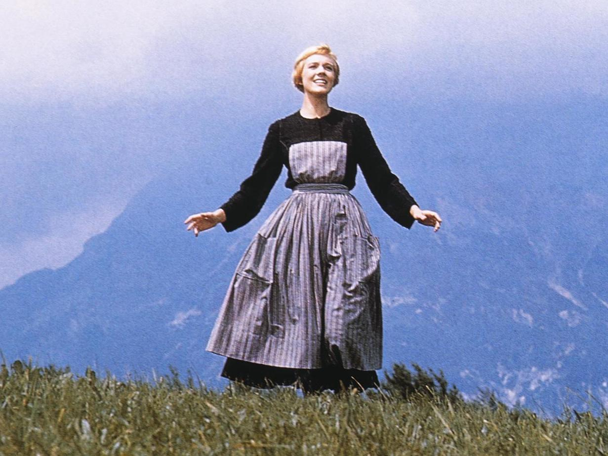 The Sound of Music: Julie Andrews reveals famous scene that saw her knocked to ground nine times while filming