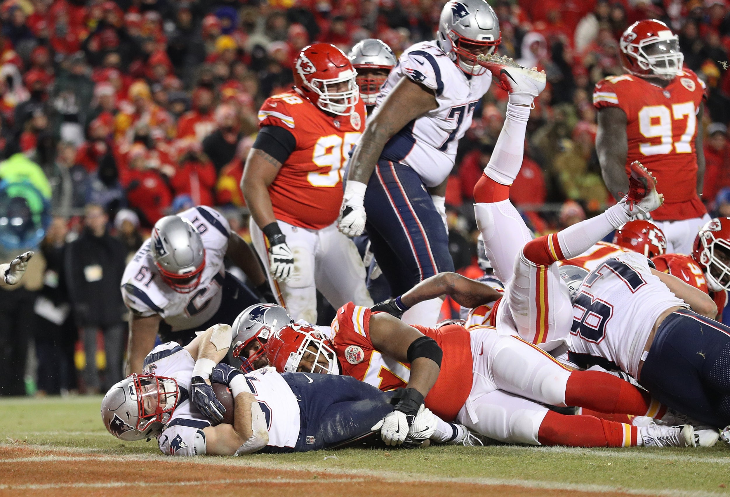 Super Bowl 2019: everything but the football – as it happened